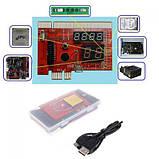 Post card пост карта PCI PCI-E MiniPCI-E LPC EC KQCPET6 V6 3 в 1, фото 5