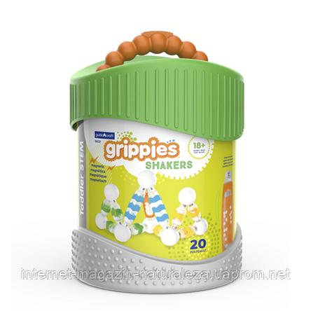 Конструктор Guidecraft Grippies Shakers 20 деталей, фото 2
