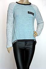 Свитер пуловер со съемным воротником, фото 2