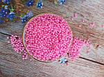 Штучний перли, 4 мм, колір рожевий, 10 грам, (~340 шт).