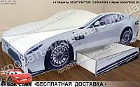 Кровать машина Астон Мартин СУПЕРКАР 1700х700, фото 1