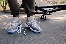 160ee78b Баскетбольные кроссовки Nike Air Jordan 11 Retro Grey Low: продажа ...