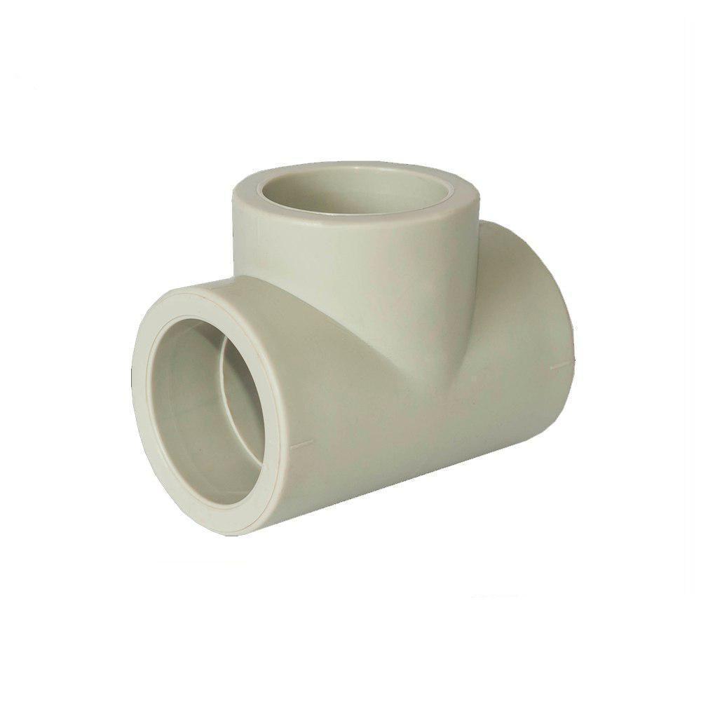 EVCI тройник-редукция 50×25×50 для пайки полипропиленовых труб PPR