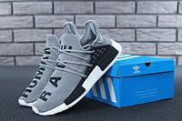 """Кроссовки мужские Adidas Nmd Human Race """"Серые"""" р. 41-45, фото 1"""