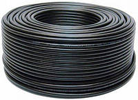 Комбинированный кабель Одескабель ССTV mini RG-59+(2*0,50+2*0,22)P бухта 305 м оболочка полиэтилен цвет черный