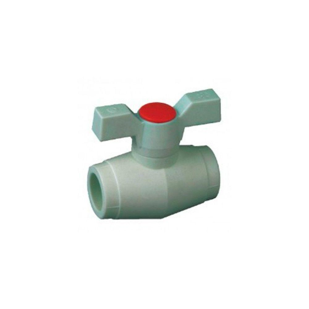 KOER кран шаровый (бабочка) для горячей воды 25  для пайки полипропиленовых труб PPR