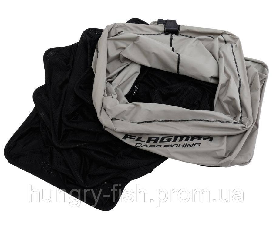 Садок прямокутний Flagman 50x40cm nylon mesh