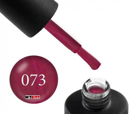 Гель лак Couture Colour 073 малиновая фуксия с перламутровым шиммером 9 мл