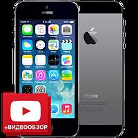 Китайский смартфон iPhone 5S, 32GB, 4 ядра, камера 8 Мп, 3G (W-CDMA), GPS, 2 SIM, Android 4.2.2.