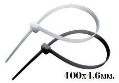 Хомут пластиковый (стяжка) 400х4,6 (100шт) (уп.)