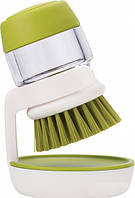Щетка для мытья посуды с дозатором для моющего средства MHZ N01232
