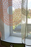 Комплект Тюль Абстракція кола, фото 3