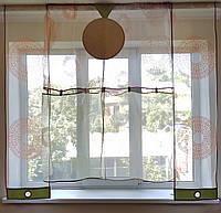 Комплект  Тюль Абстракция круги, фото 1