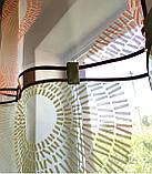 Комплект Тюль Абстракція кола, фото 2