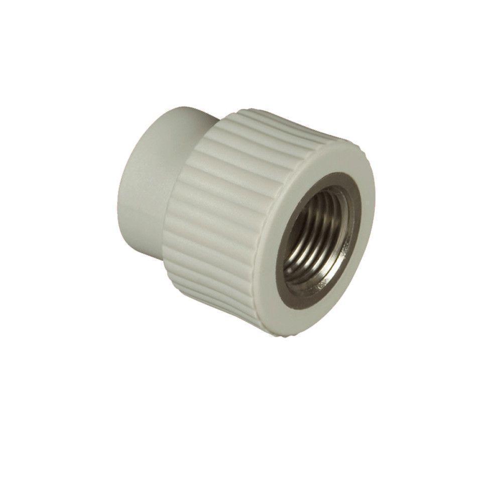 KOER муфта резьба внутренняя 25x1/2f для пайки полипропиленовых труб PPR
