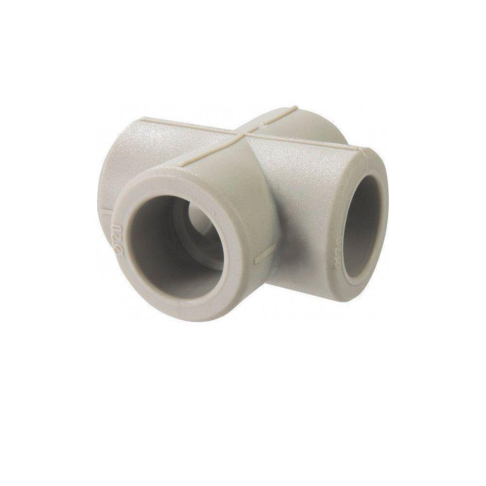 KOER крестовина соединительная 40 для пайки полипропиленовых труб PPR