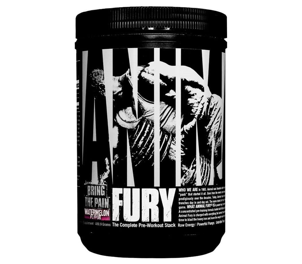 Отличный предтрен Universal Nutrition Animal Fury 330,6g