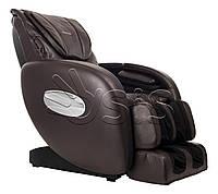 Массажное кресло HomeLine S коричневый