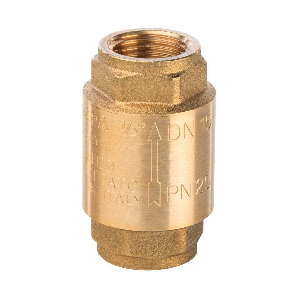"Клапан 1"" с латунным штоком"