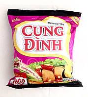 Лапша быстрого приготовления со вкусом жареных ребрышек и побегами бамбука Cung Dinh Micoem 80 г, фото 1