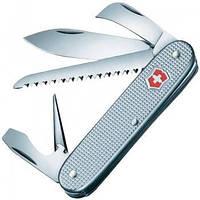 Нож Складной Мультитул Викторинокс Victorinox ALOX Harvester (93мм, 7 функций), серебристый 0.8150.26