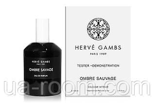Тестер Herve Gambs Paris Ombre Sauvage, 100 мл