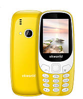 Мобильный телефон Vkworld Stone Z3310 (Nokia clone)  2 сим,2,4 дюйма,2 Мп,1450 мА/ч. Стильный.
