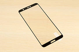 Защитное стекло Silk Screen для Huawei P Smart тех.пакет (Black)