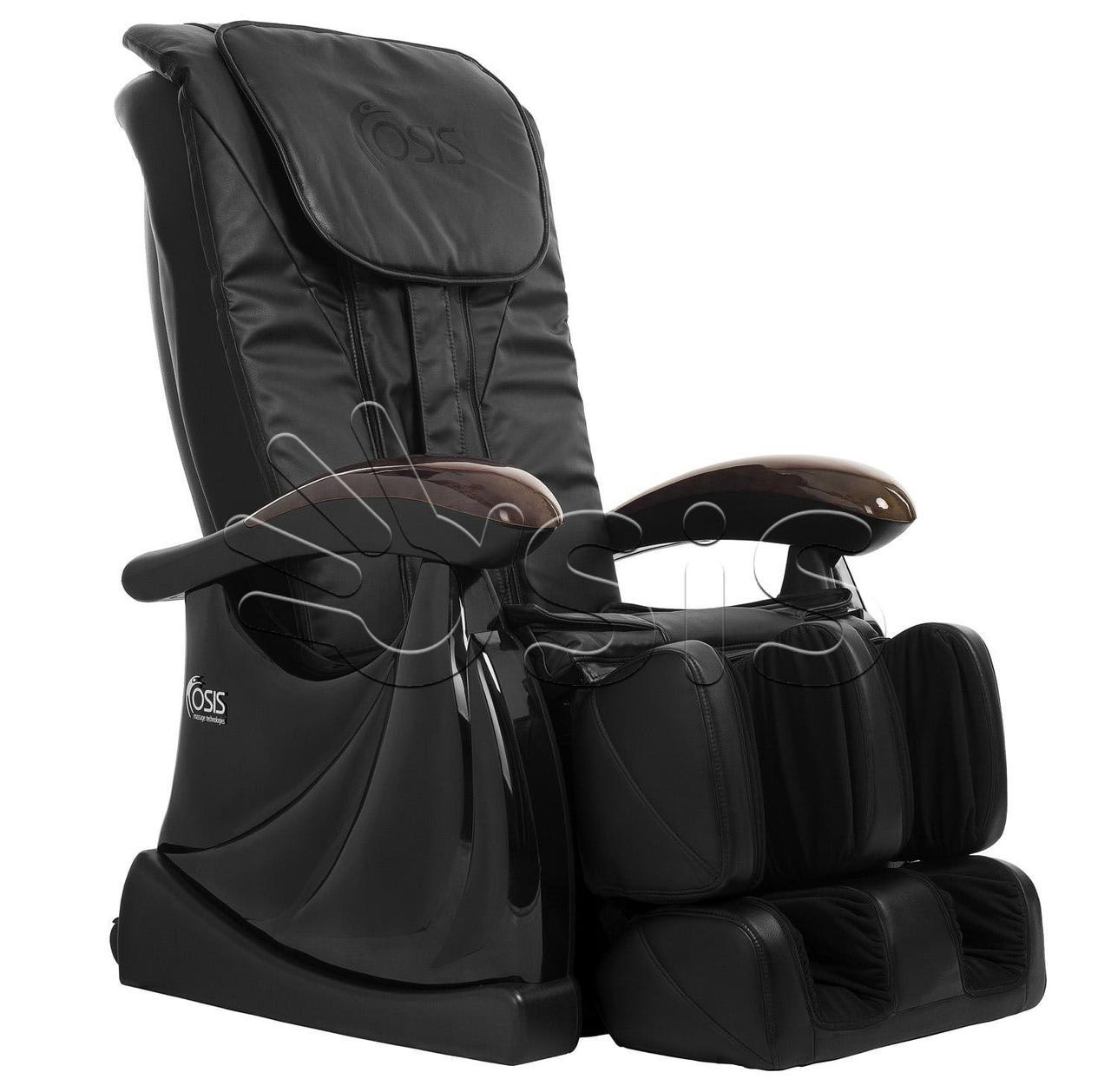 Массажное кресло Atlant черный
