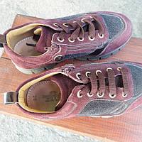 Туфли Zecchino d Oro замшевые для девочки б/у, фото 1