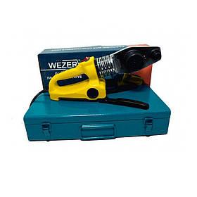 Паяльник плоский Wezer WZ.63G, 20-63мм 900Вт для пластиковых труб