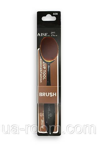 Кисть-щётка для макияжа Aise Line (большая) A30, фото 2