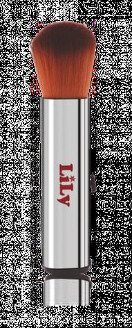 Кисть для пудры (автоматическая,4 вида) Lily B1203, фото 2