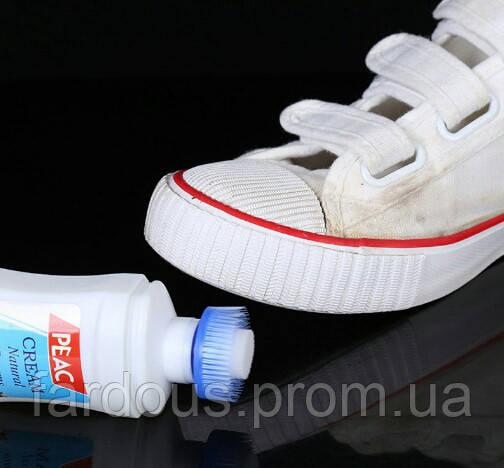 Отбеливающий крем для обуви и сумок, 120мл