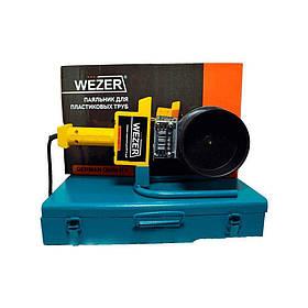 Паяльник плоский Wezer WZ.110-C-1 для пластиковых труб