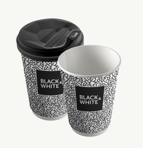 "Стакан 340 мл ""Black & White"""