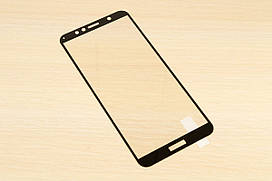 Защитное стекло Silk Screen для Huawei Y6 2018 тех.пакет (Black)
