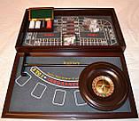 Казино 4 в 1: рулетка, покер, кости, блэкджек настольная игра, фото 3