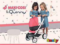 Коляска Smoby Toys Maxi-Cosi & Quinny 3 в 1 со съемной люлькой 253198