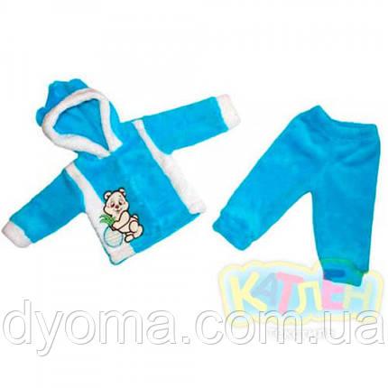 """Детский махровый комплект """"Панда"""" для новорожденных, фото 2"""