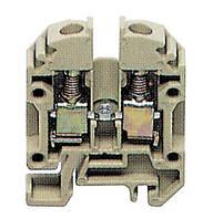 Клемма винтовая Conta-Clip RK 1,5-4/15 Ном.сеч.4 мм², Iном.=32 A, бежевый, cc1010.2