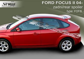 Спойлер козырек на заднее стекло тюнинг Ford Focus 2