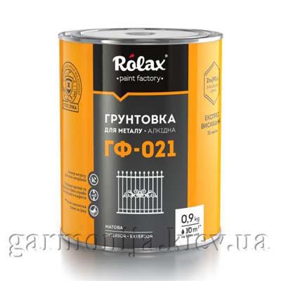 Грунтовка для металла Rolax ГФ-021 Черный 2.8 кг