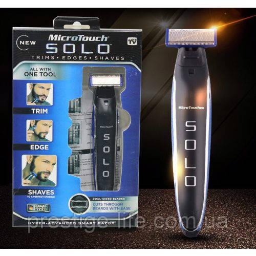 Електоробритва Триммер бритва для мужчин Micro Touch Solo. Бритва, триммер, усы, борода.