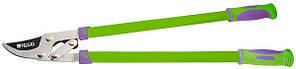 Сучкоріз 750 мм, з прямим лезом, ричажний механізм, посилене лезо, двокомпонентні ручки// PALISAD