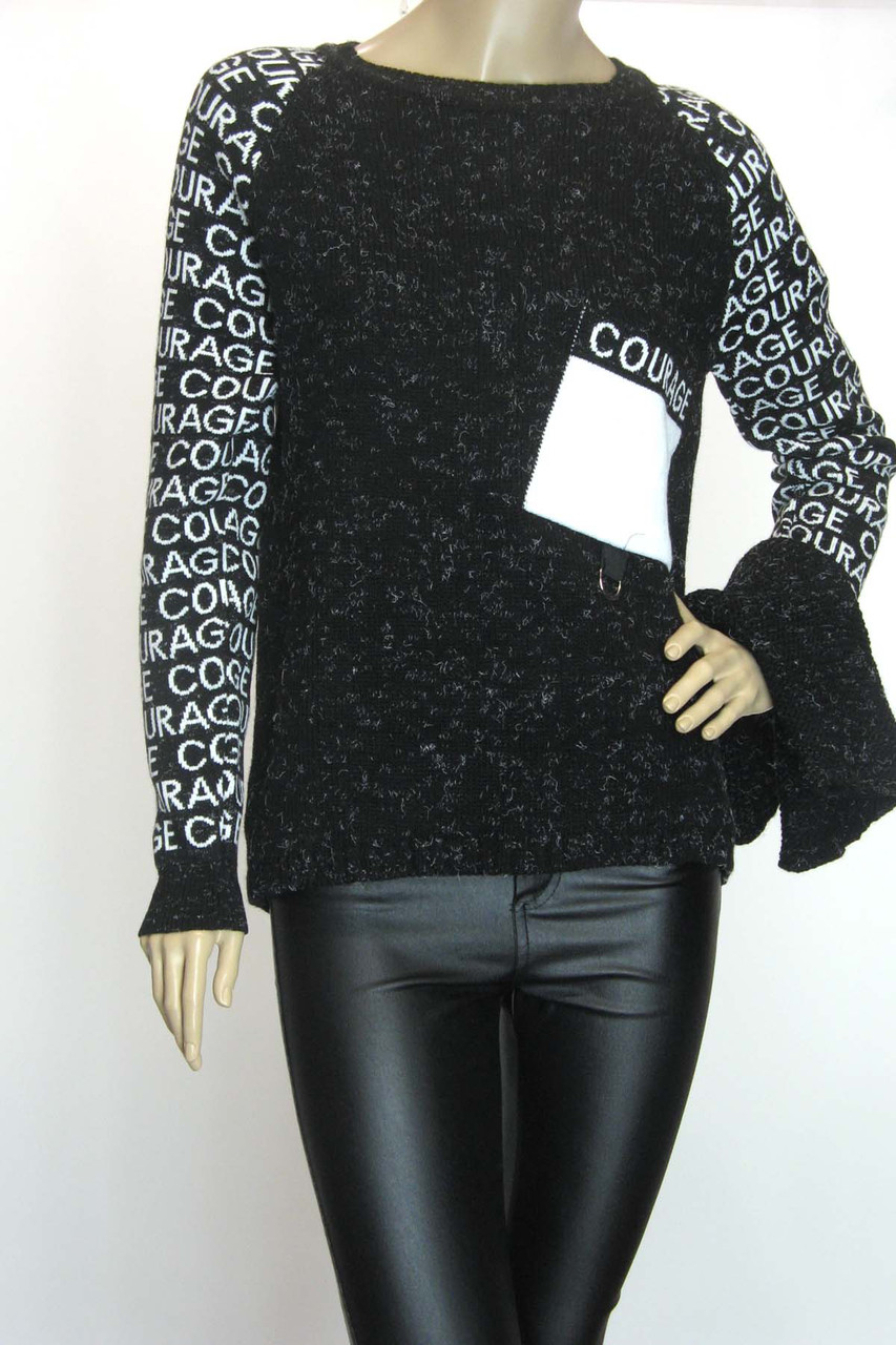 Жіноча вязана тепла кофта светр