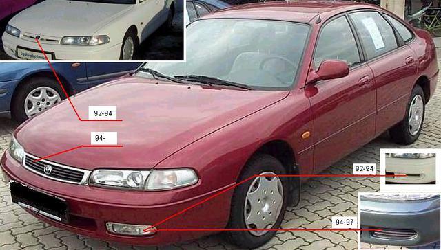 MAZDA 626 92-97 (GE) SDN/HB