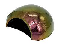 UV/LED лампа 48 Вт, для сушки геля и гель-лака, с вентилятором, хамелеон зелено-фиолетовая, фото 1