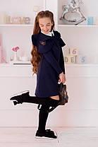 Школьное платье вставка гипюр 22421, фото 3