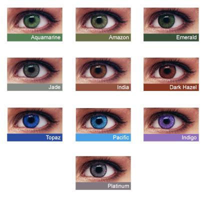 """Контактные линзы «SofLens Natural Colors» - """"LOOK""""  Весь спектр оптических услуг в Хмельницкой области"""
